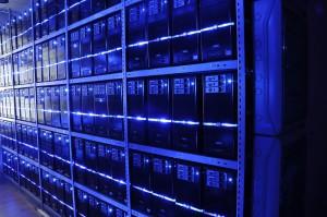 Een computer data centrum dat beheerd kan worden